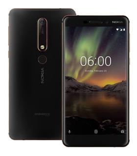 Nokia 6.1 Telcel Movist Att Dual Sim 32 Rom 3 Ram 16 + 8 Mpx