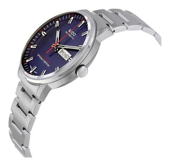 Reloj Mido M0122102201100 Comander Ii Caballero Automatico