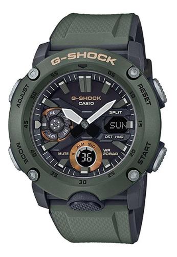 Reloj G-shock Casio Ga-2000-3a Hombre Analogo Digital