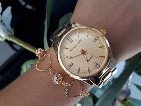 6 Kits Relógios Top + Pulseira Atacado Revenda!