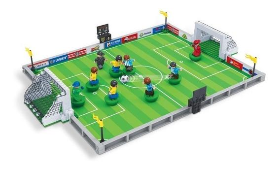 Brinquedo Futebol P/ Montar 251 Pcs