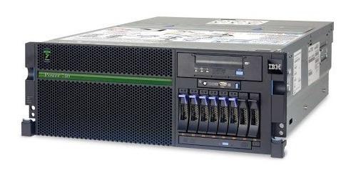 Servidor Ibm Power740 Xeon 3.55ghz 128ghz Ram 3x300gb Hd Sas