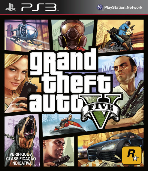 Grand Theft Auto 5 Gta V Ps3 Pt-br Psn