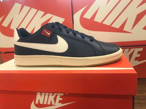Tênis Nike Modelo Court Royale Azul Marinho