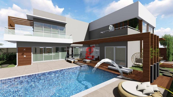 Cond. Village Do Engenho - Casa Com 3 Dormitórios À Venda, 400 M² Por R$ 2.200.000 - Jardim União - Cambé/pr - Ca0035