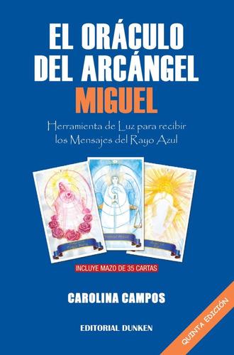 Libro El Oráculo Del Arcángel Miguel + Mazo 35 Cartas
