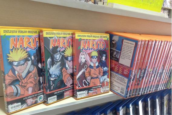 Naruto Coleção Completa 45 Dvds Original Raros