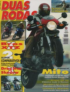 Duas Rodas N°330 Ducati Monster 916 Nxr Bros Xtz Drag Star