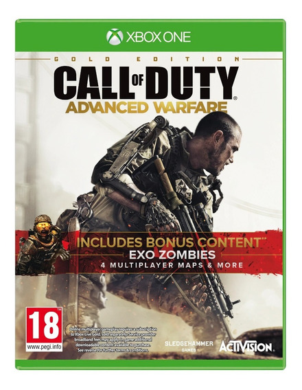 Jogo Xbox One Call Of Duty Advanced Warfare Novo