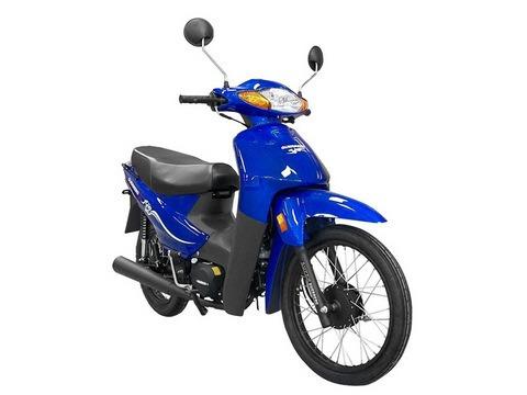 Imagen 1 de 15 de Guerrero Trip 110 Econo 0km Ap Motos 2021 Blitz Smash Rappi