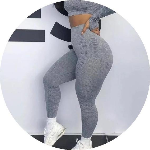 Leggings Sin Costura Cintura Alta Mujeres Fitness Mpb-401