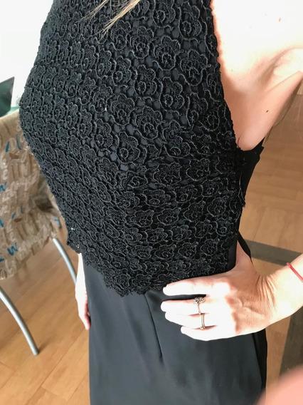 Vestido Fiesta Negro Alquiler