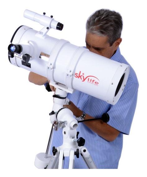 Telescópio Refletor Skylife Polar 152mm Eq3-5 Profissional +cd - Skylife Marca Especialista Em Produtos Astronômicos