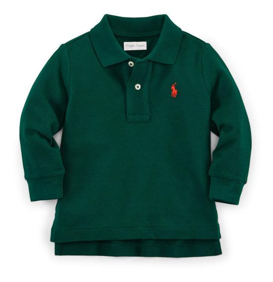 Polo Ralph Lauren Camiseta Menino Kids Original 6 A 24 Meses
