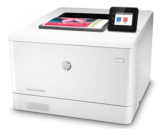 Impressora A Cor Hp Laserjet Pro M454dw Com Wi-fi 110v Branc