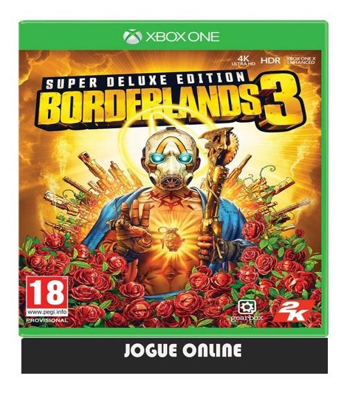Borderlands 3 - Edição Superdeluxe X Box One