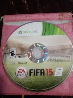 Videojuego Fifa 15 P/ Xbox 360 Usado