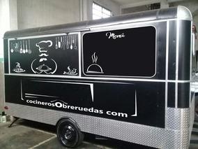 Food Truck - Trailer Gastronómico - Comidas En Ferias