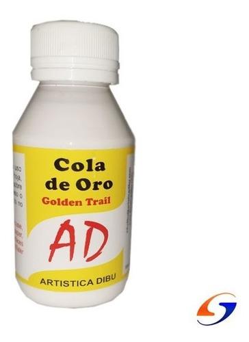Imagen 1 de 3 de Adhesivo Cola De Oro Ad 100ml. Serviciopapelero