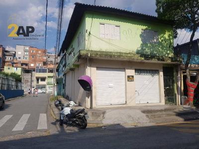 Salão Para Alugar, 100 M² Por R$ 1.500/mês - Taboão Da Serra - Taboão Da Serra/sp - Sl0006