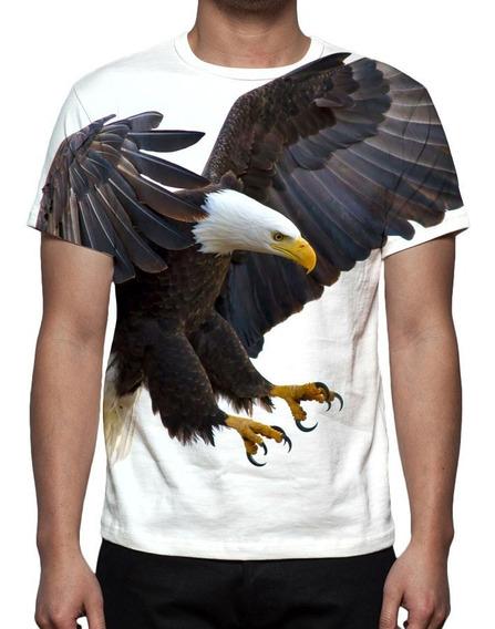 Camiseta Águia - Estampa Total