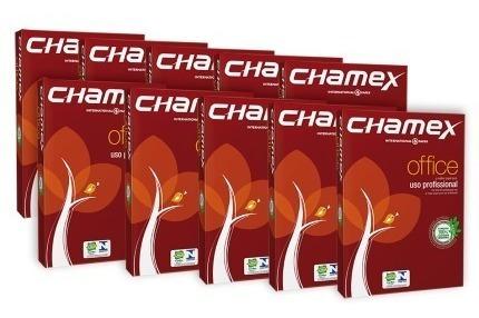 Kit 2 Resma Folha De Oficio Chamex Cada Pacote 500 Folhas