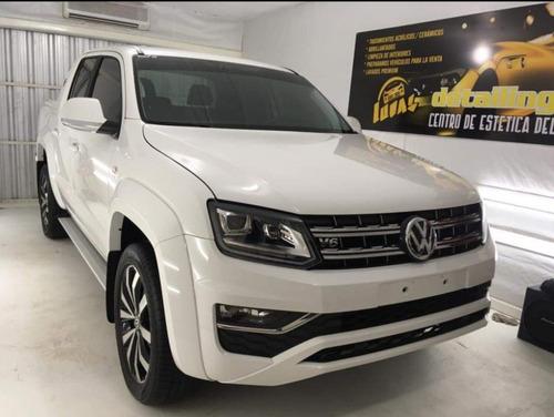 Imagen 1 de 8 de Volkswagen Amarok 2018 3.0 V6 Extreme