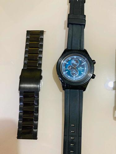 Smartwatch Technos Masculino Connect Duo Preto P01ab/4p