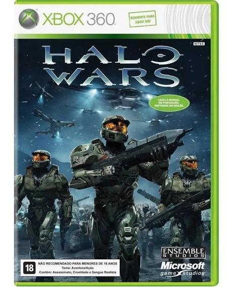 Halo Wars Xbox 360 Original Midia Fisica Lacrado