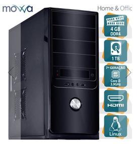 Computador Hydro Intel I3 7100- Linux