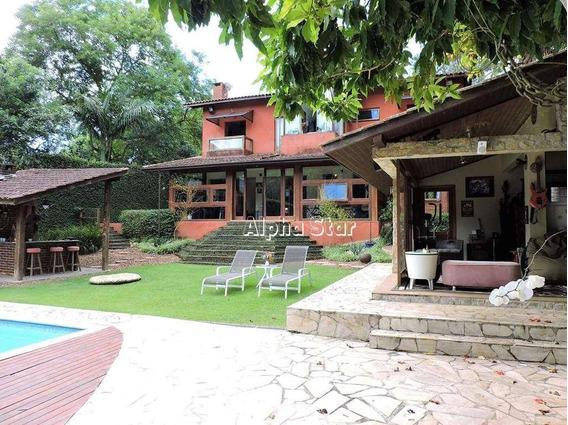 Casa Contemporânea, Maravilhosa, Personalidade, Bom Gosto, Venda - Paisagem Renoir Iii - Cotia/sp - Ca2240