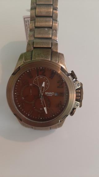 Reloj Branzi Caballero Vintage 48mm Resistente Al Agua