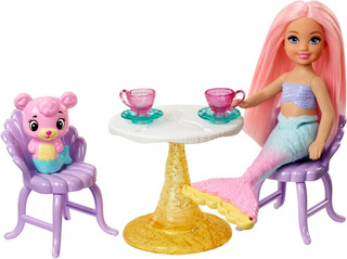 Barbie Chelsea Sirena Castillo De Arena Envío Inmediato