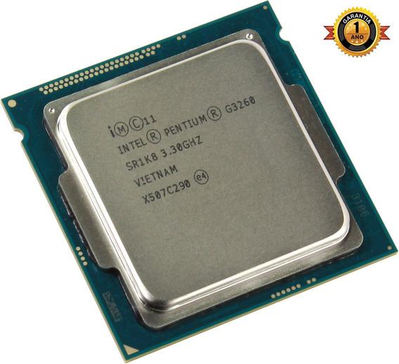 Processador Intel Pentium G3260 3.3 1150 - 1 Ano De Garantia