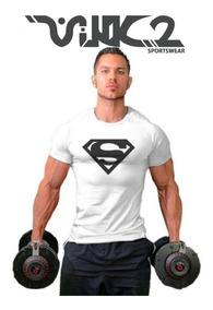 Camisa Gym Para Hombre Ejercicio