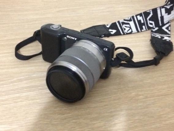 Camera Sony Nex 3 Lente 18-55m