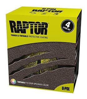 Productos Upol Raptor Tintable Truck Bed Liner 17 Voc Kit 4