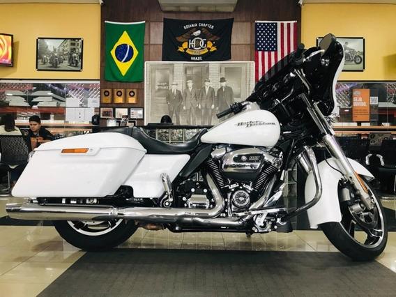 Harley-davidson Street Glide Branca 2017/2017