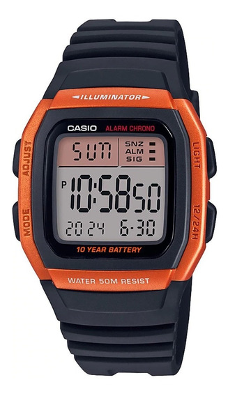 Relojes Casio Collection W-96h-4a2vcf
