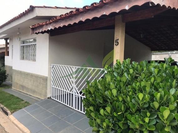 Excelente Casa Térrea Em Atibaia Em Condomínio Fechado - 976