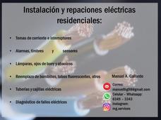 Electricista Instalación Y Reparación Eléctrica Residencial