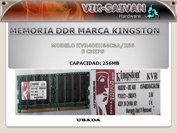 Memoria Ddr Kingston 256mb Pc-3200 400mhz 8 Chips 14