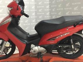 Honda Biz 125 Ex 2015 Vermelha Metalica Flex