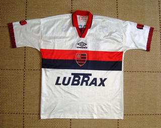 Camisa Original Flamengo 1995 Away #10 Centenário