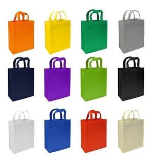 Bolsas Ecológicas Pop 37 X30 X10 Listas Para Entregar