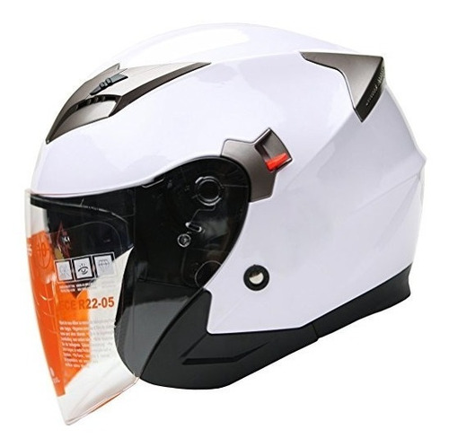 Casco Yema Ym-627 Doble Visera Para Moto