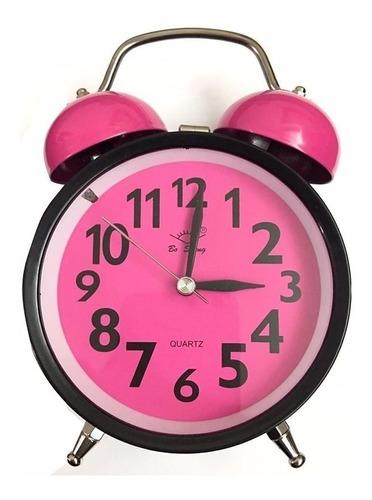 Reloj Campana Despertador Análogo De Mesa A32 R.h