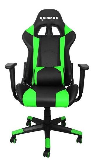 Cadeira Gamer Raidmax Drakon Dk 702 Preta Com Verde