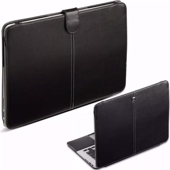 Macbook Air 13 Capa Case Protetor Couro A1369 A1466 + Brinde