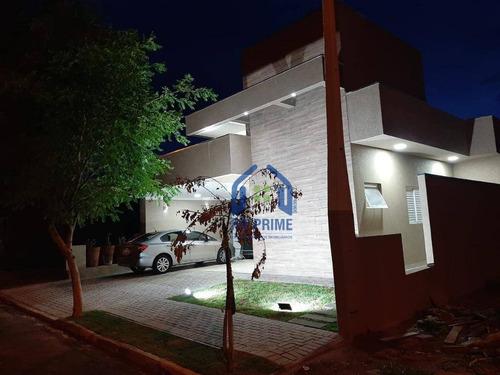 Casa Com 3 Dormitórios À Venda, 138 M² Por R$ 630.000,00 - Residencial Maza - São José Do Rio Preto/sp - Ca2525
